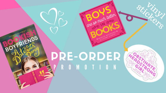 Pre-order promotion for Bookish Boyfriends